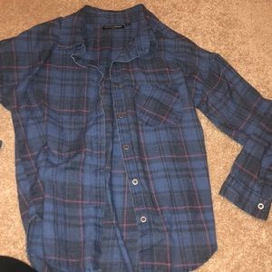 Women's flannel button down, only worn once